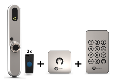 Invited Smart Lock 30-30 + Wandschakelaar + Keypad