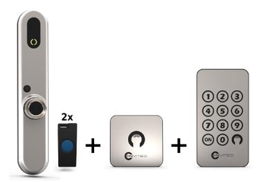 Invited Smart Lock 30-30 + Wandschakelaar + Keypad